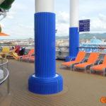 cruise ships column padding covers