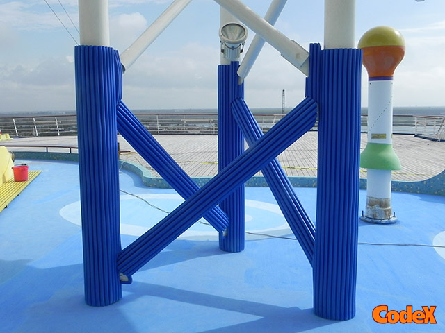 cruise ships column protections
