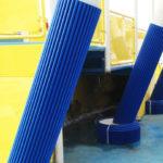 cruise ships pillars padding covers