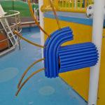 cruise ships protective paddings
